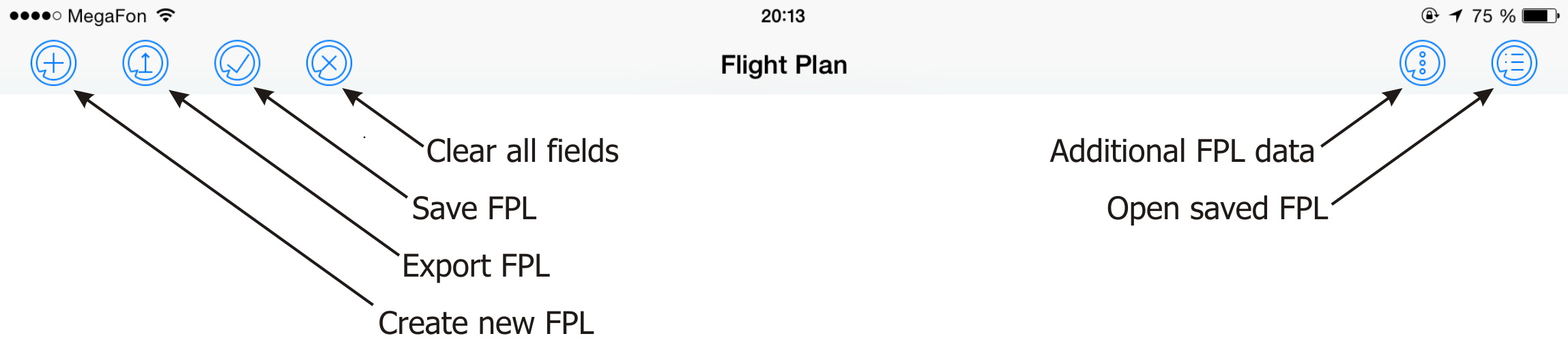 FlightPlan for EFB iPad