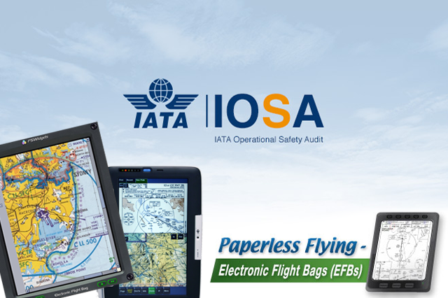Требования IOSA для Electronic Flight Bag